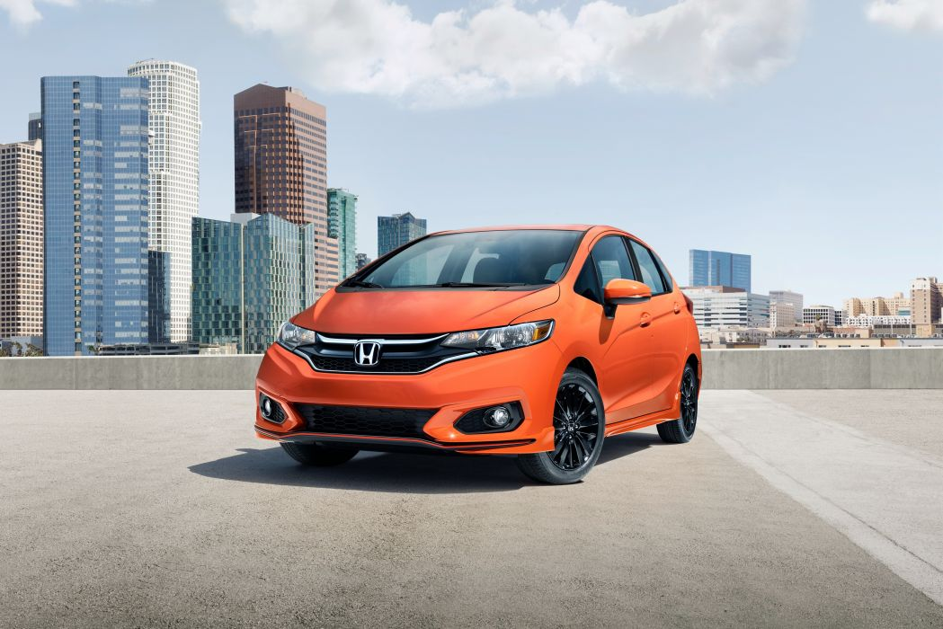 Honda Fit Sport 2018 wallpaper