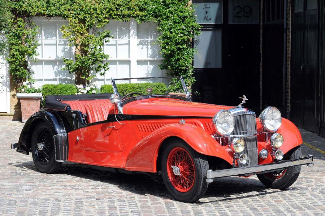 Alvis 4 3 Litre Short Chassis Vanden Plas Tourer 1938 wallpaper