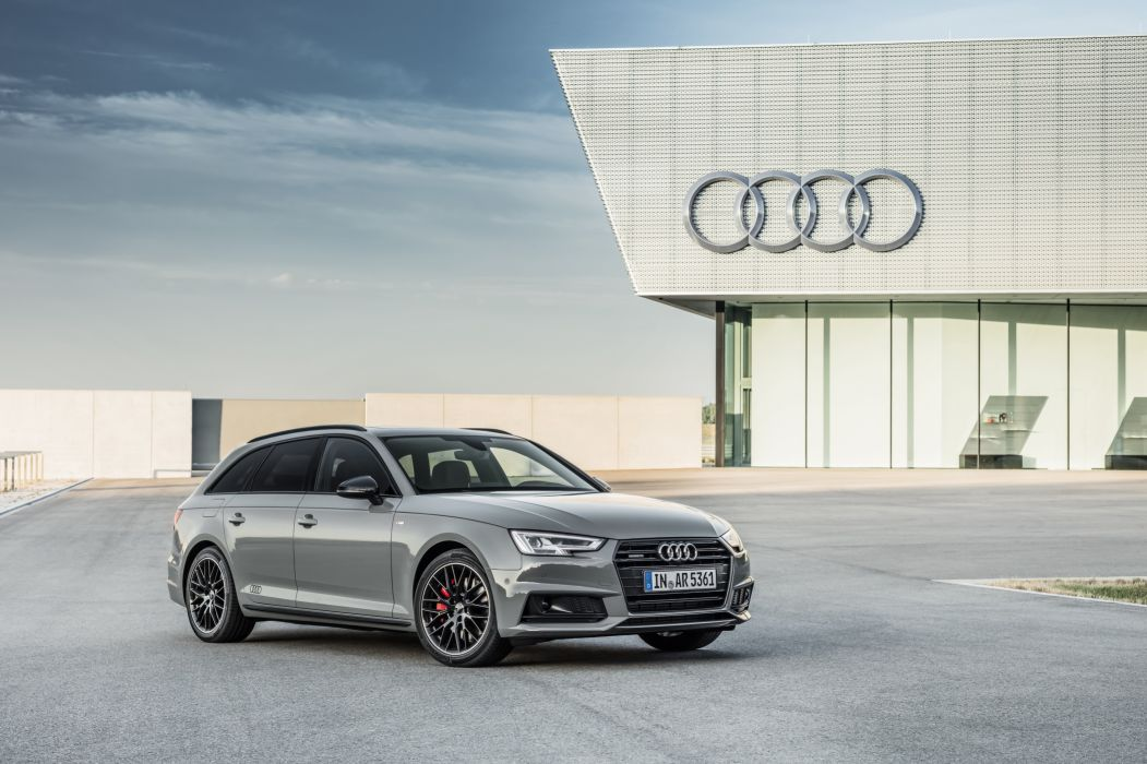 Audi A4 Avant 3 0 TDI Quattro S Line Black Edition 2017 wallpaper