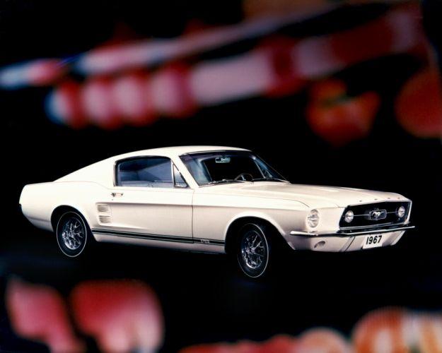 Ford Mustang GT Fastback 1967 wallpaper