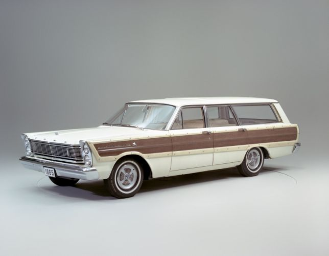 Ford Country Squire 1965 wallpaper