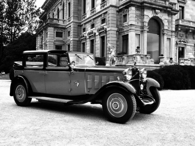 Hispano-Suiza H6 Coupe-Chauffeur Landaulet 1922 wallpaper