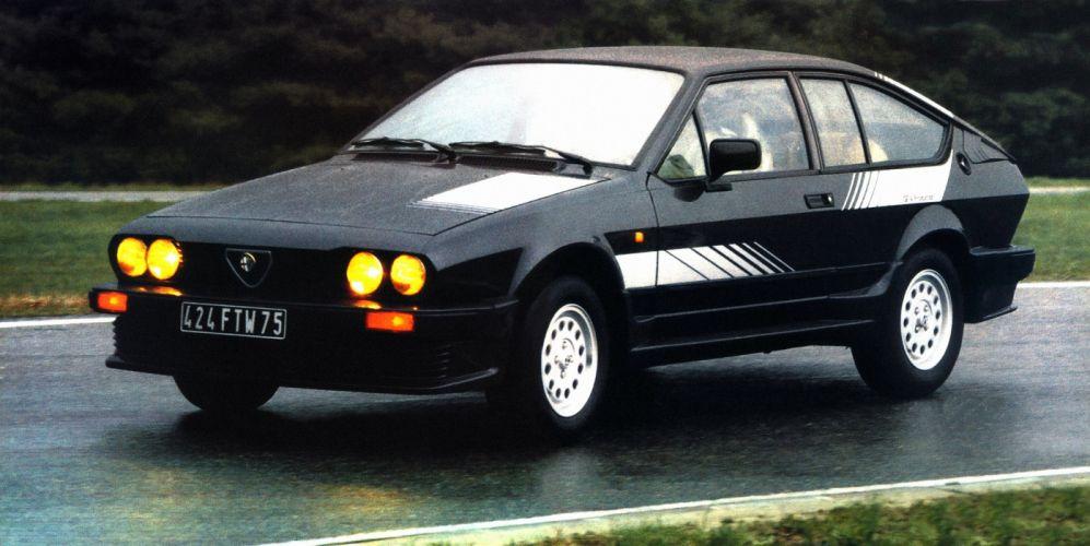 Alfa Romeo GTV 2 0 Production 1983 wallpaper