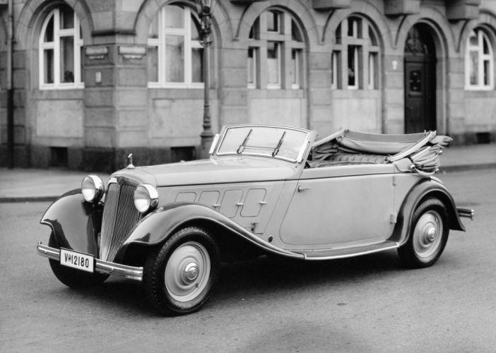 Audi Front UW 220 Sport Cabriolet 1933 wallpaper