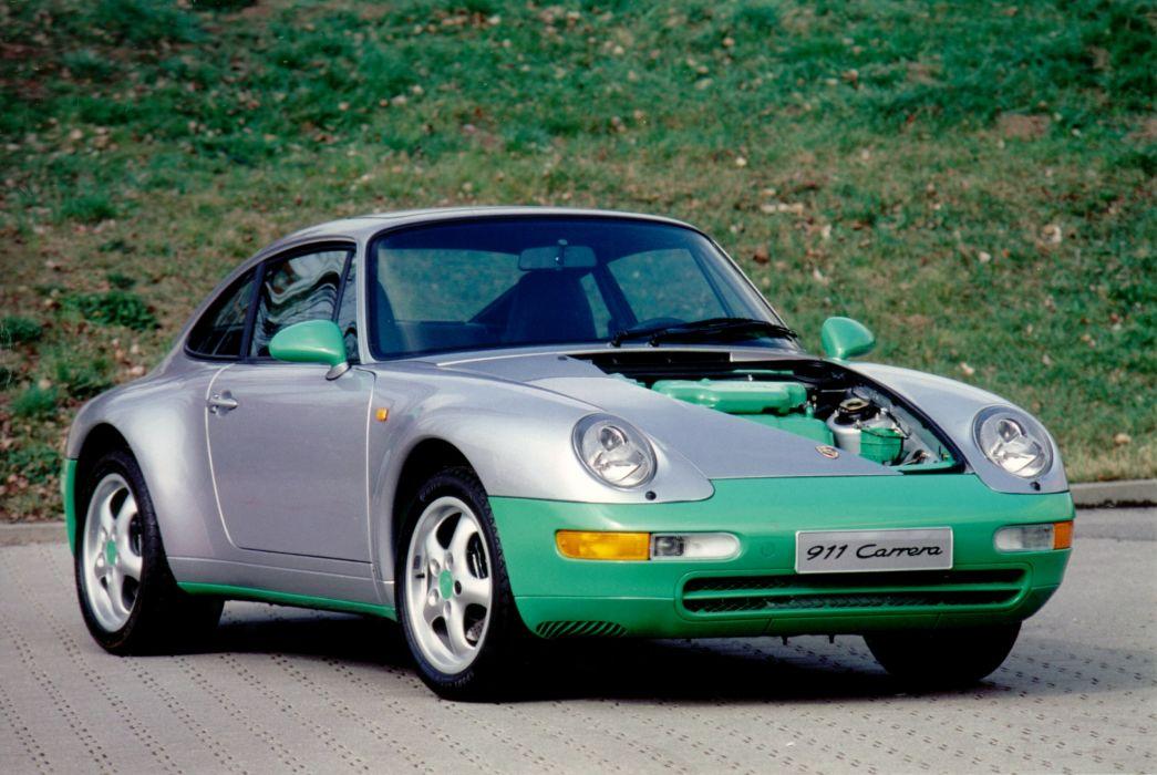 Porsche 911 Carrera Coupe Recycling-Studie Prototyp 1993 wallpaper
