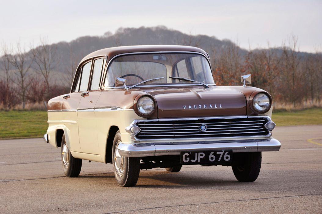 Vauxhall Victor Sedan Deluxe 1957 wallpaper