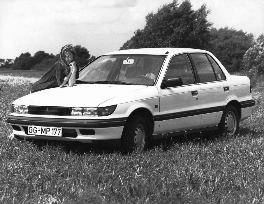 Mitsubishi Lancer Sedan 1988 wallpaper