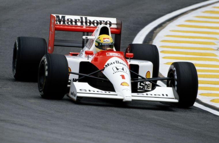 McLaren Honda MP4-6 1991 wallpaper