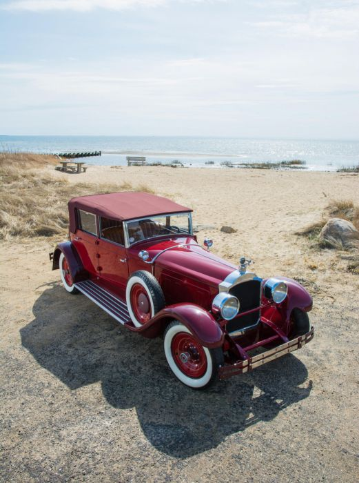 Packard Custom Eight Convertible Sedan 1928 wallpaper