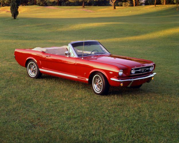 Ford Mustang GT Convertible 1966 wallpaper