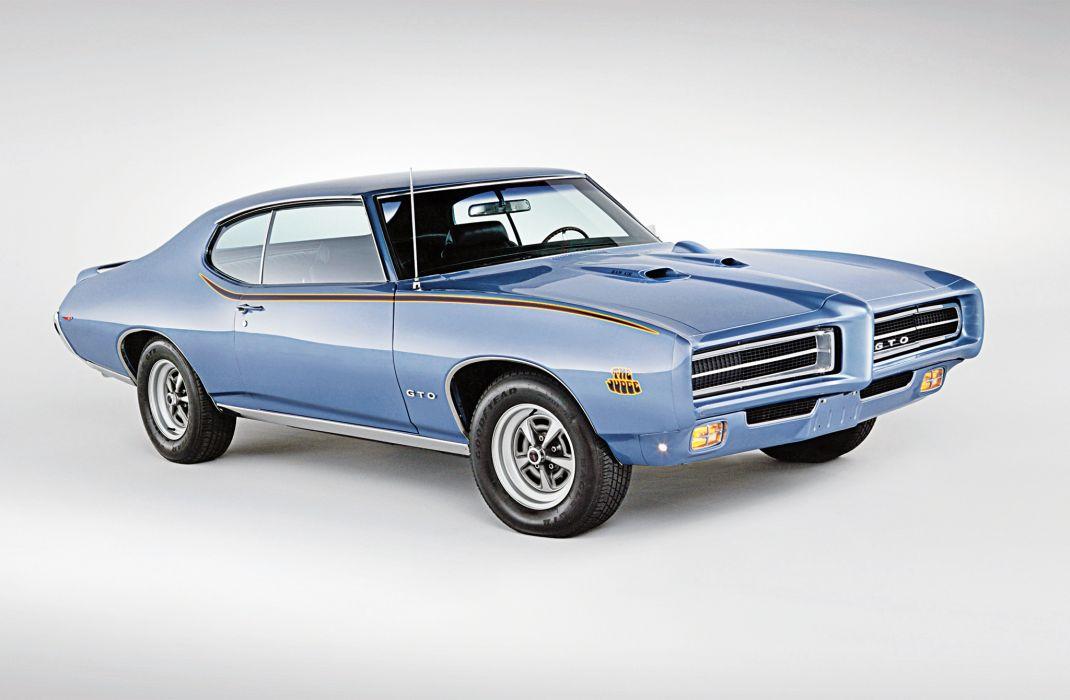 Pontiac GTO The Judge Ram Air IV Hardtop Coupe 1969 wallpaper