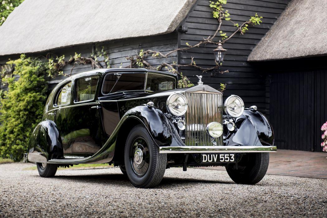 Rolls-Royce Phantom III Saloon 1936 wallpaper