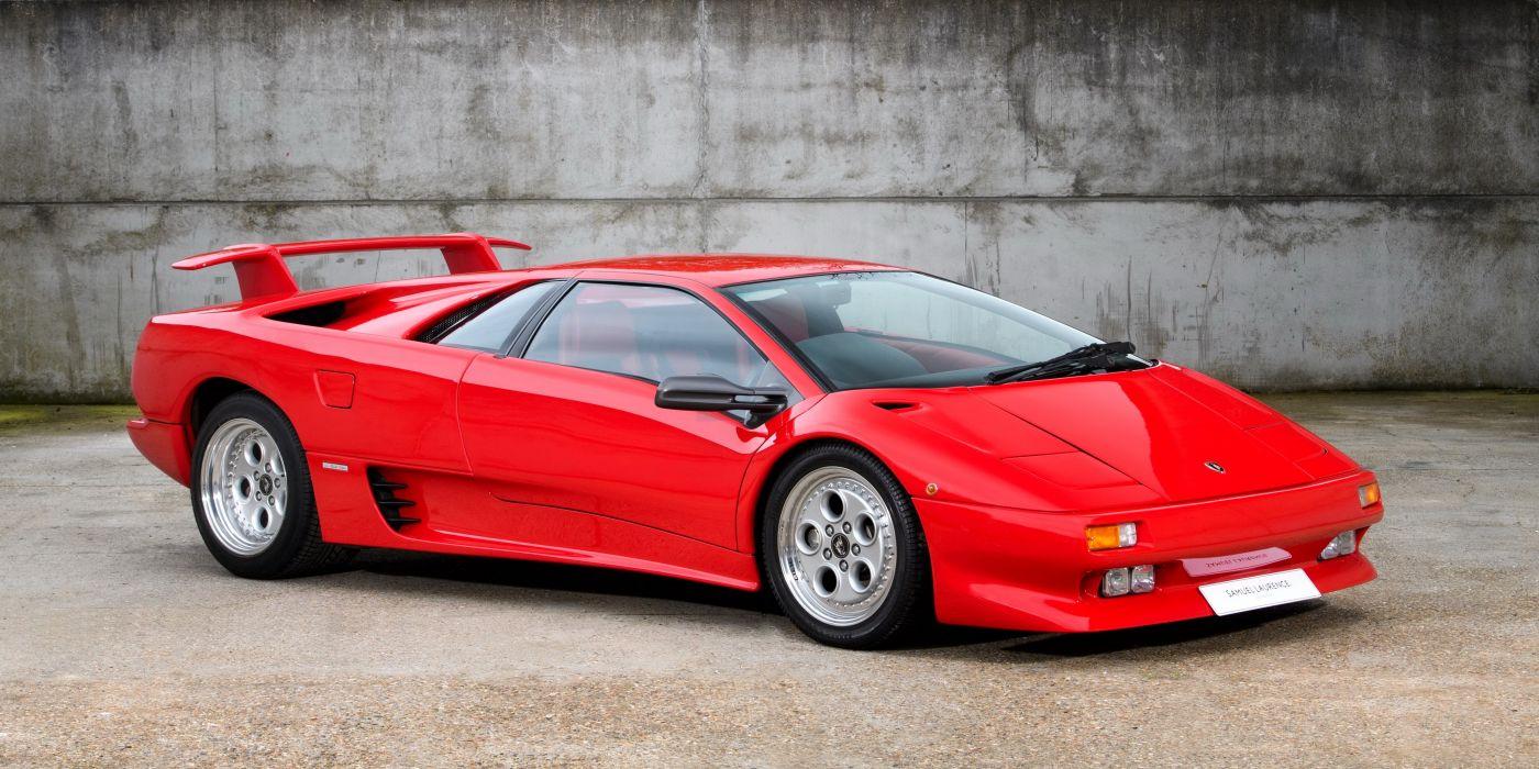 Lamborghini Diablo 1990 >> Lamborghini Diablo 1990 Wallpaper 4096x2048 1095530