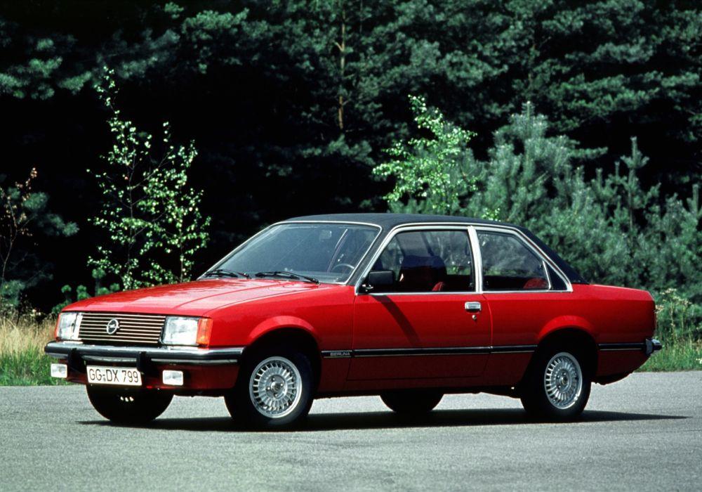 Opel Rekord Coupe 1977 wallpaper