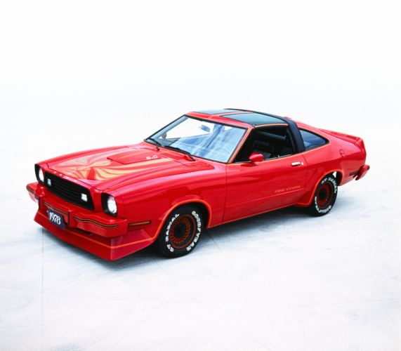 Ford Mustang II King Cobra T-Roof 1978 wallpaper