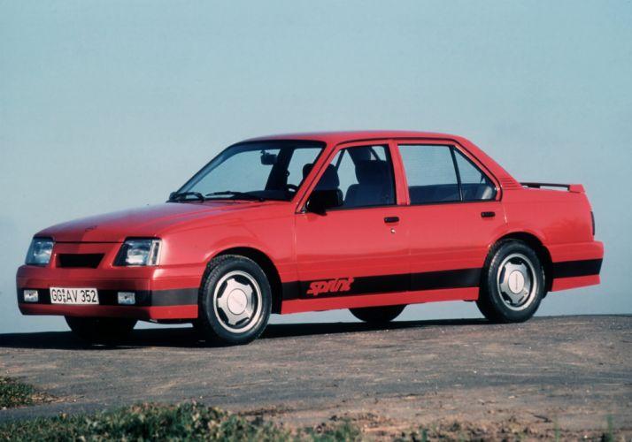Irmscher Opel Ascona Sprint 1986 wallpaper
