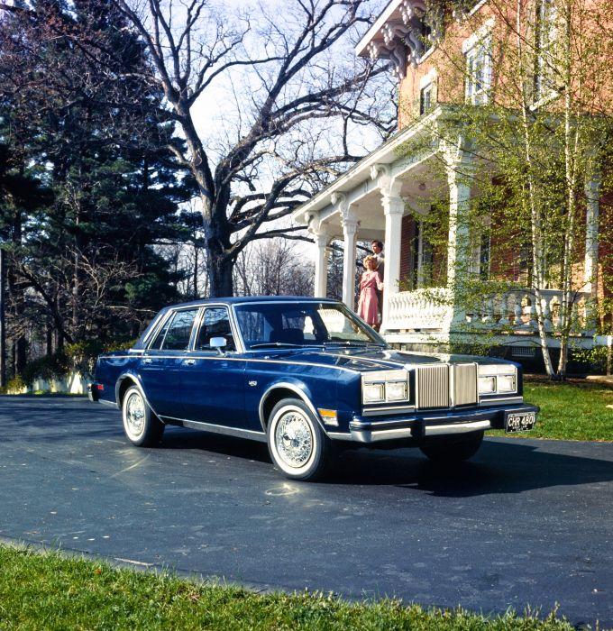 Chrysler LeBaron Medallion Sedan 1980 wallpaper