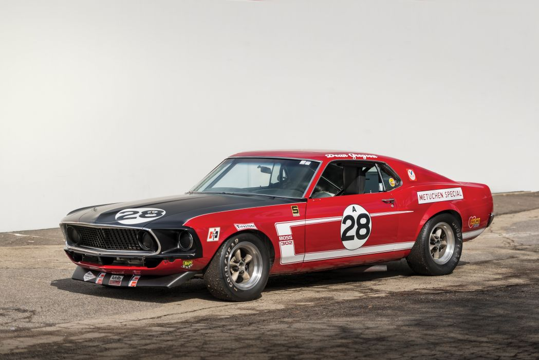 Tasca-Ford Mustang Boss 302 Trans Am Metuchen Special 1969 wallpaper