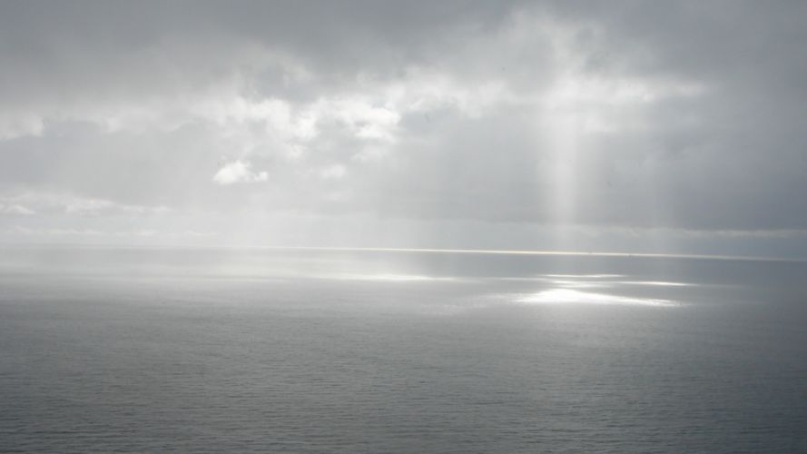 cielo mar rasos sol nubes naturaleza wallpaper