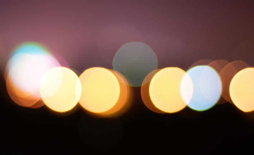 abstract art blur bokeh bright circle color dark design illuminated light luminescence pattern round wallpaper