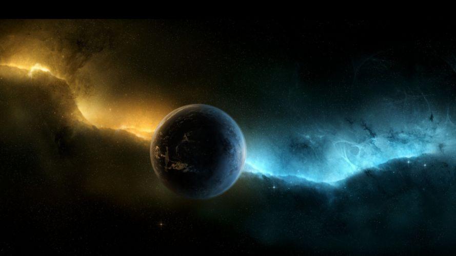 planeta espacio naturaleza wallpaper