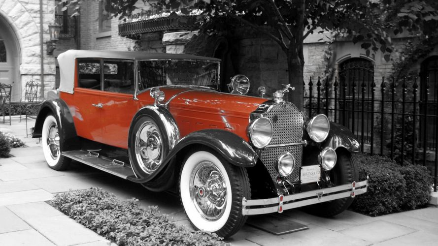 Retro 1929 Packard 4 Door Convertible Cars 1920x1440sp-00-2048H wallpaper