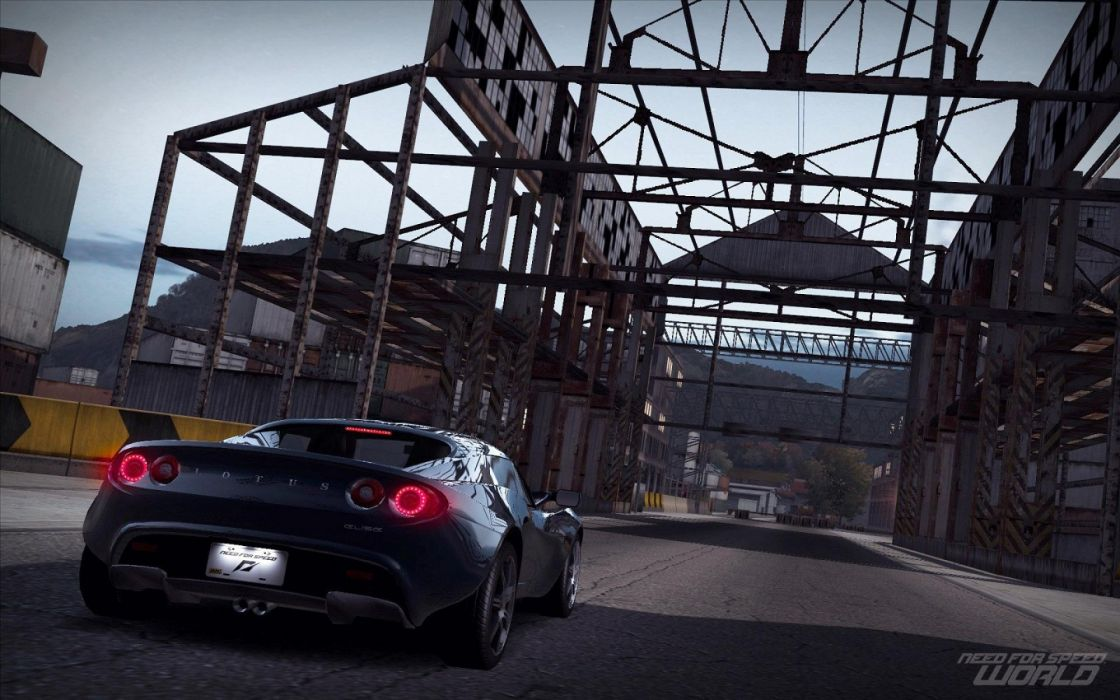 Machine Car Lotus Elise Need For Speed World Games Wallpaper