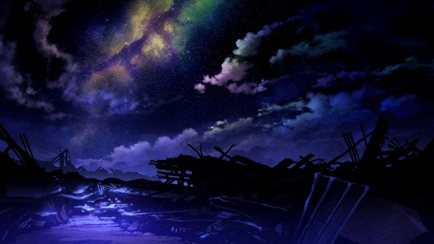 Apocalyptic Fantasy Art Anime wallpaper