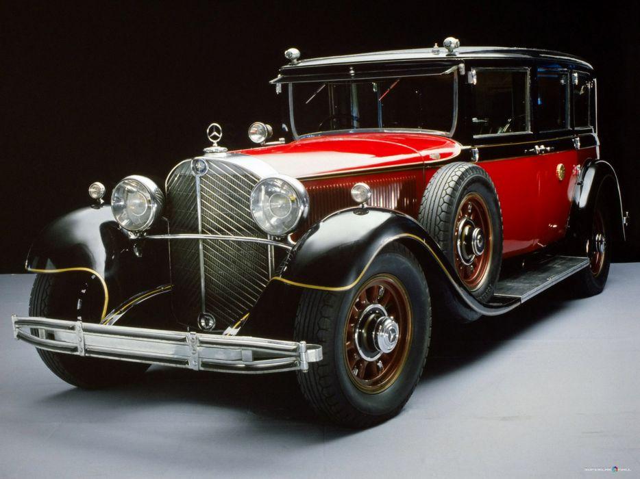 1931 mercedes benz coche antiguo wallpaper
