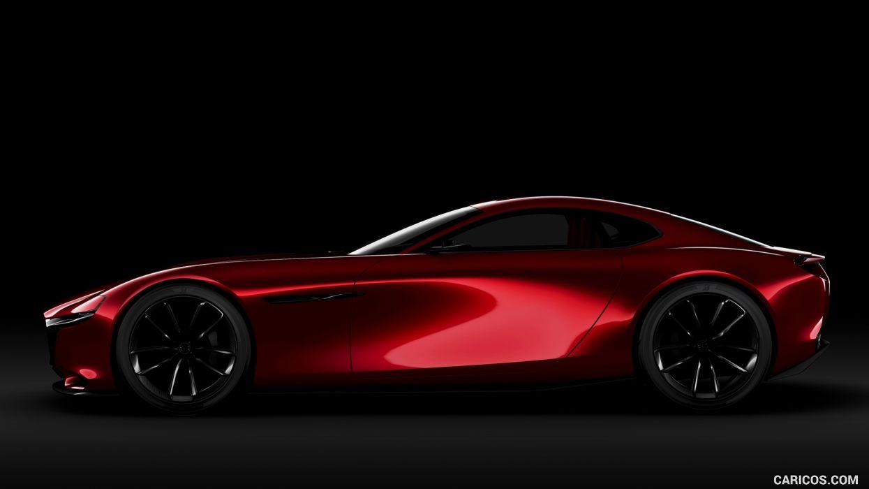 coche rojo deportico concepto wallpaper