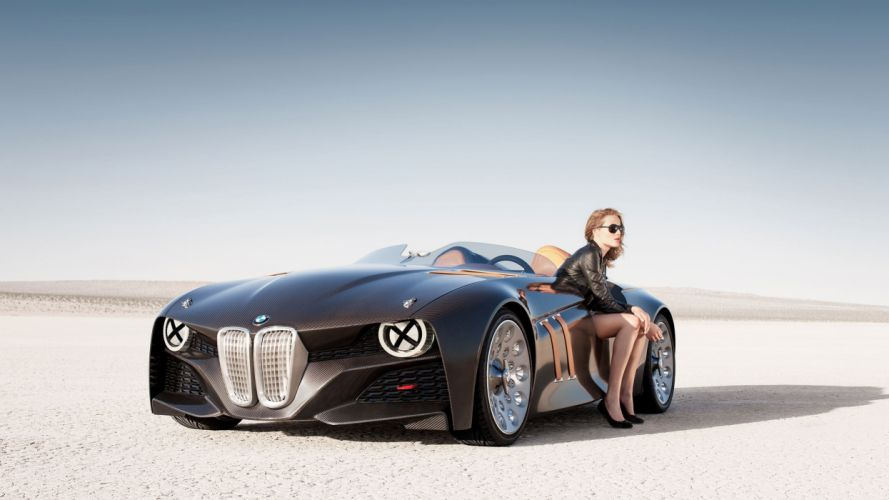 BMW 328 Girl concepto wallpaper