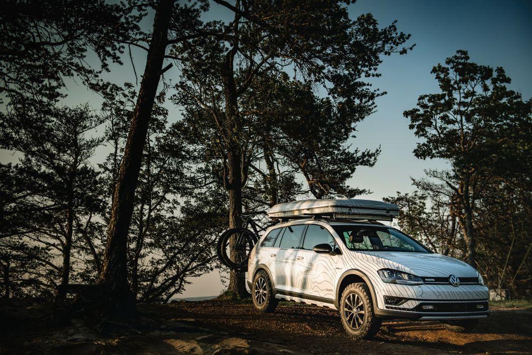 Volkswagen Golf Alltrack Country Concept 2017 wallpaper