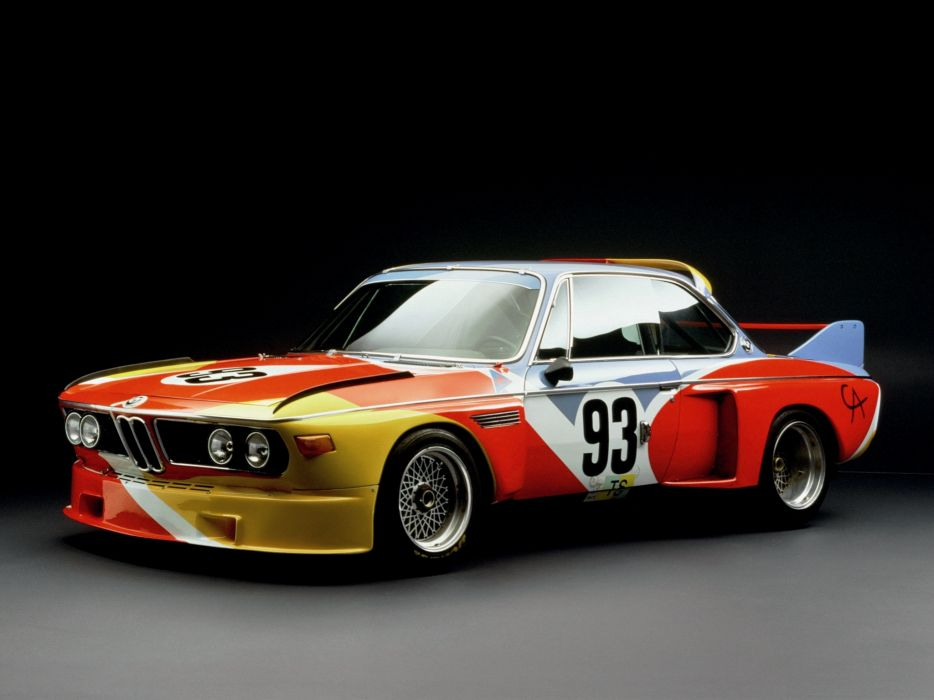 BMW 3 0 CSL Art Car 1975 wallpaper