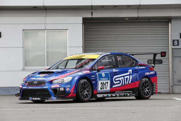 Subaru WRX STI Race Car 2017 wallpaper