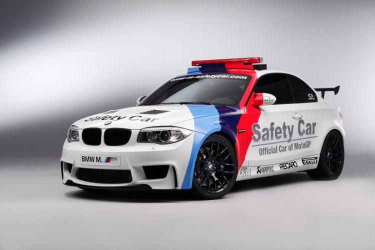 BMW 1 Series M Coupe MotoGP Safety Car 2011 wallpaper