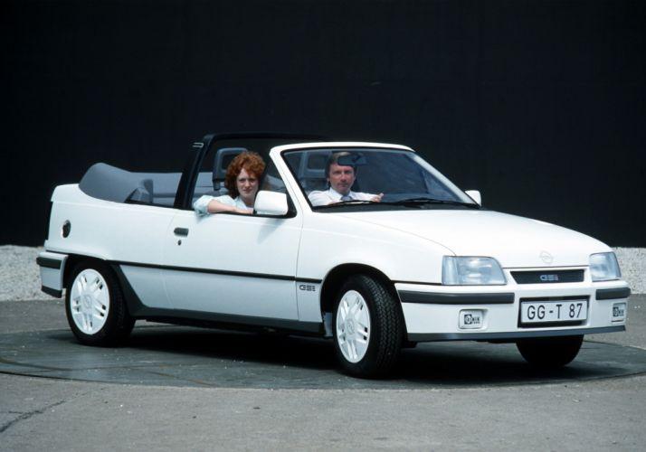 Opel Kadett GSi Cabrio 1986 wallpaper