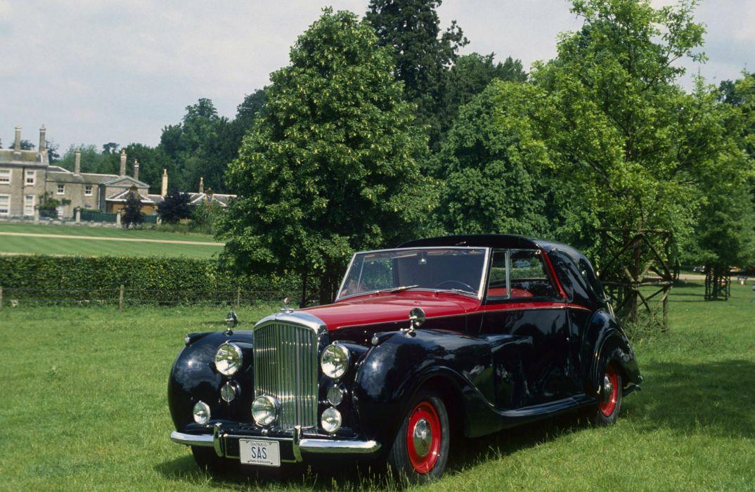 Bentley Mark VI Sedanca Coupe 1949 wallpaper
