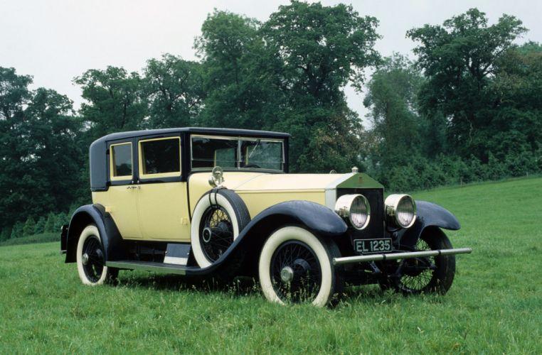 Rolls-Royce Silver Ghost 40-50 Sedan 1925 wallpaper