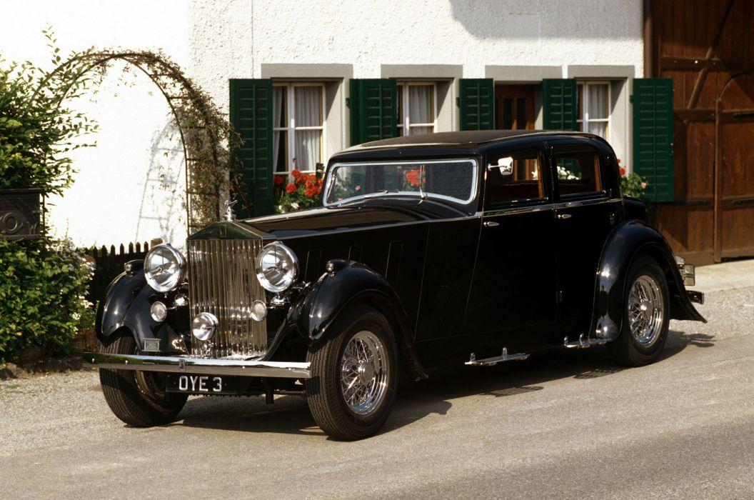 Rolls-Royce Phantom III Sports Saloon 1937 wallpaper