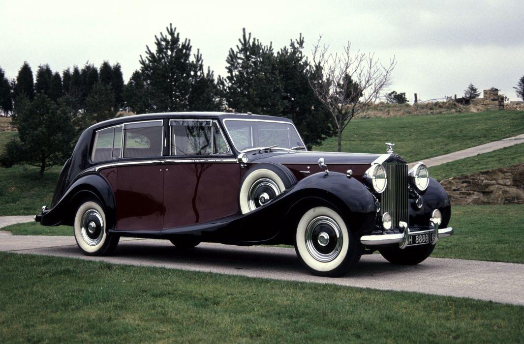 Rolls-Royce Phantom IV Limousine 1951 wallpaper