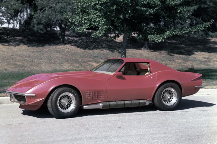 Chevrolet Corvette Aero Coupe Show Car 1969 wallpaper