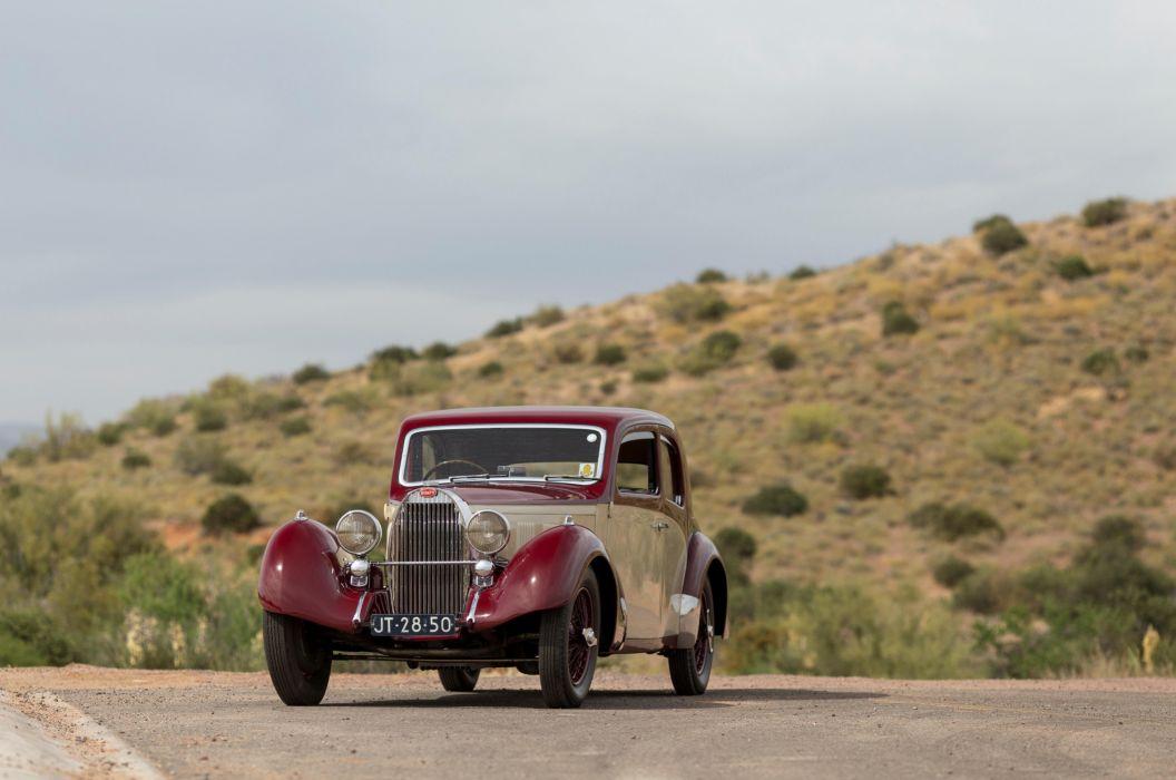 Bugatti Type 57 Pillarless Sports Coupe 1937 wallpaper