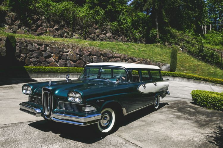Edsel Villager 1958 wallpaper