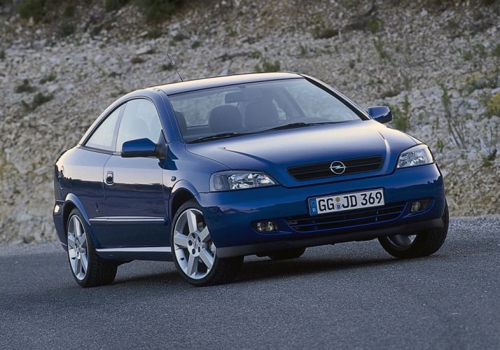 Opel Astra Turbo Coupe 2000 wallpaper