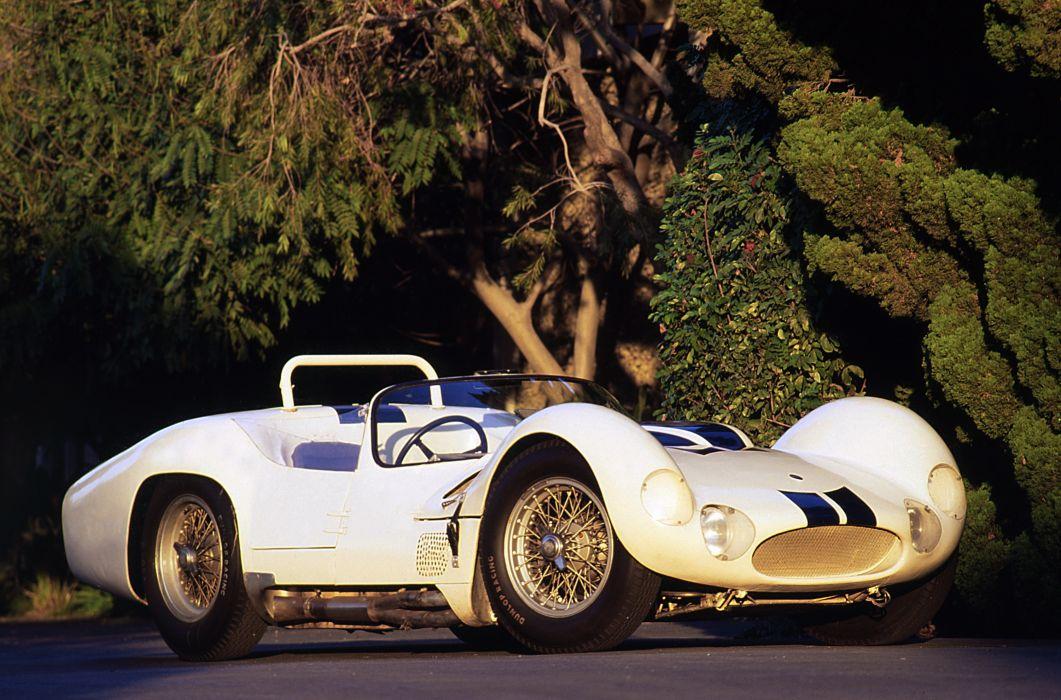 Maserati Tipo 60 Birdcage 1959 wallpaper