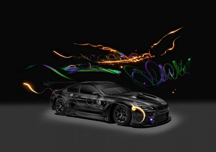 BMW M6 GT3 Art Car 2017 wallpaper