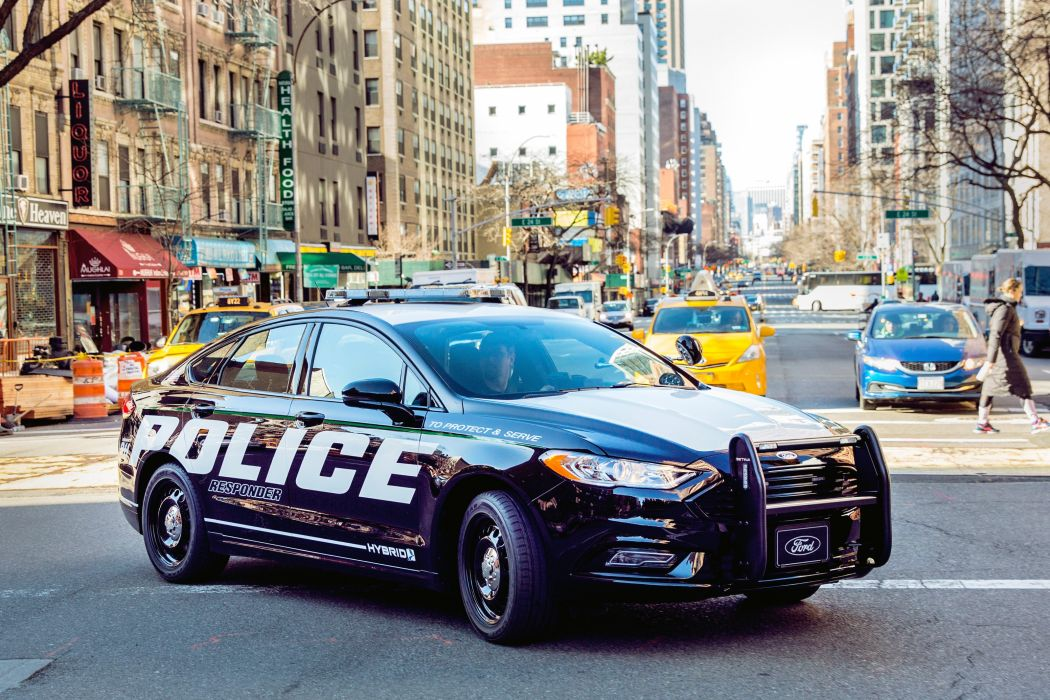 Ford Police Responder Hybrid Sedan 2018 wallpaper