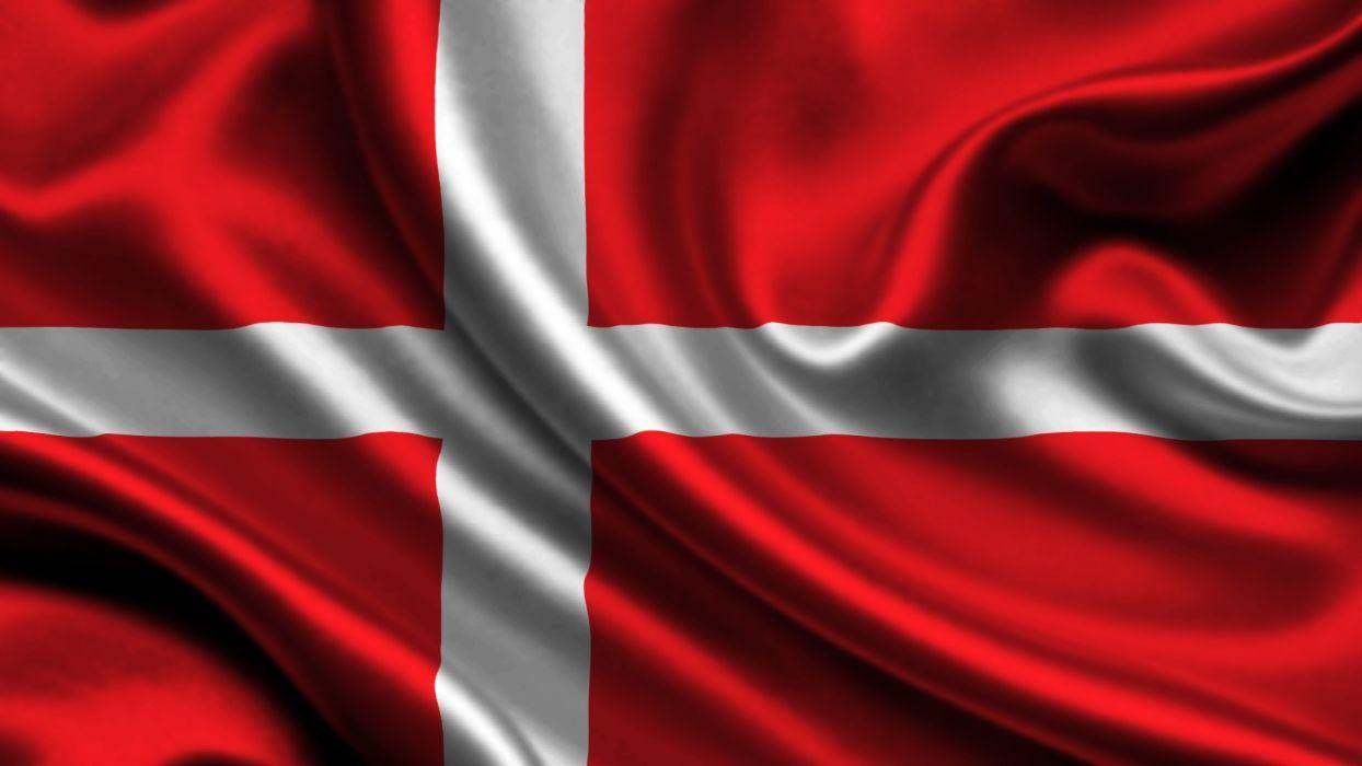 bandera dinamarca europa wallpaper