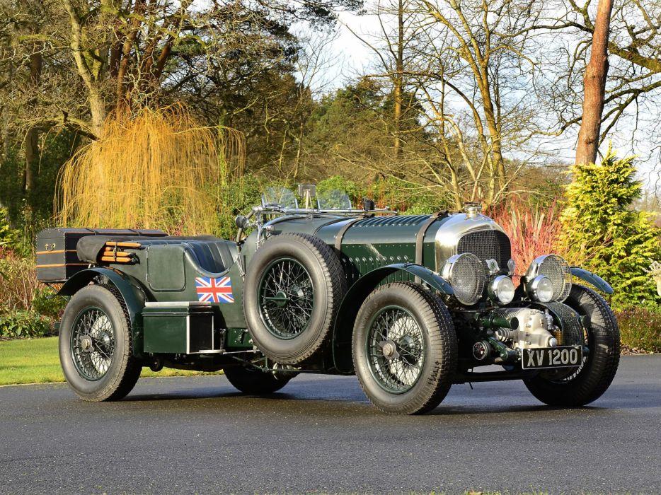 Bentley Retro 1926 4 5 Blower Green Cars wallpaper