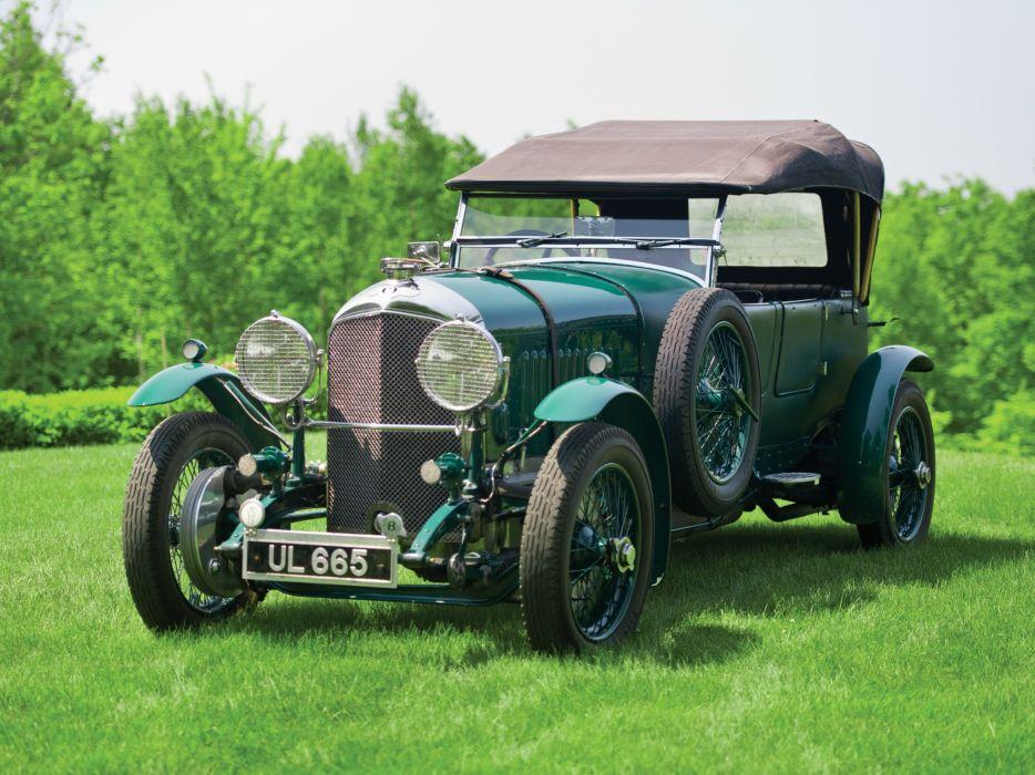 Bentley Retro Grass Green Cars wallpaper